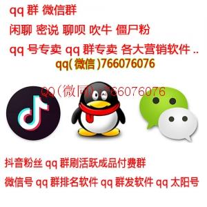 qq群排名/软件出售QQ群拉人/活跃人气克隆号出售qq群凑人数