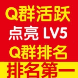 QQ群付费群.点亮群等级LV2.q群活跃lv5.qq群活跃成品付费群